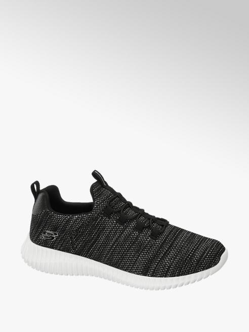 Skechers Zwart/grijze sneaker Memory Foam