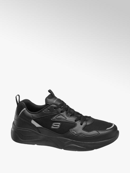 Skechers Zwarte sneaker vetersluiting