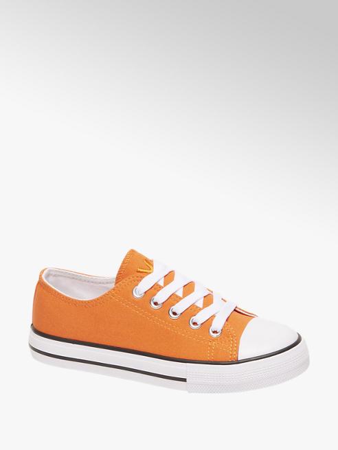 Vty Kids canvas sneaker Oranje