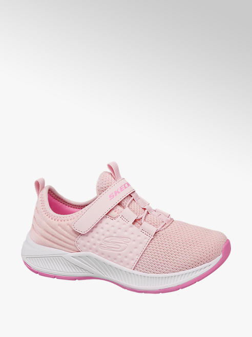 Skechers Roze sneaker velcrosluiting