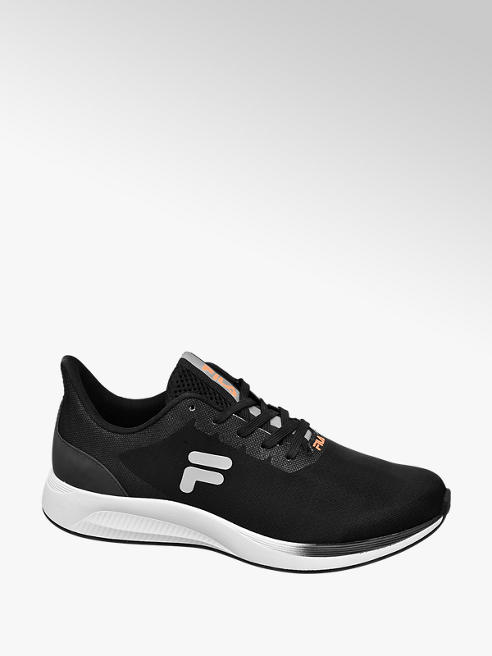 Fila Mens Fila Black Lace-up Trainers