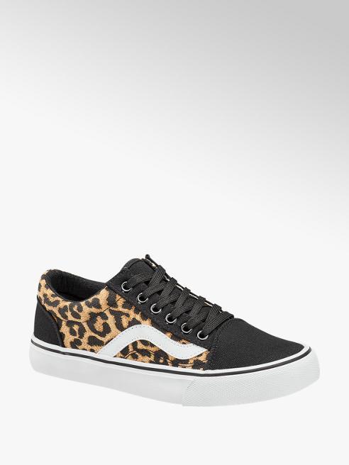 Vty Leopard canvas sneaker