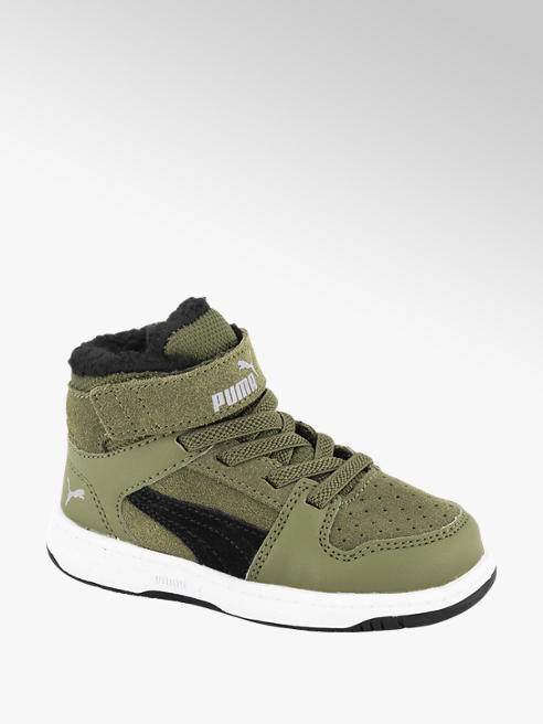 Puma Olijfgroene Rebound Lay Up SD Fur