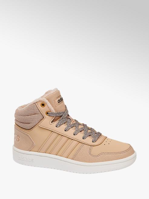 adidas Дамски високи кецове Hoops Mid 2.0