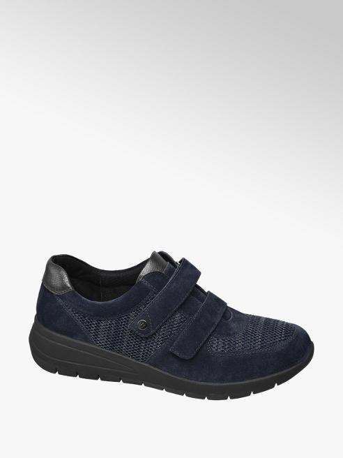 Medicus Blauwe sneaker metallic detail