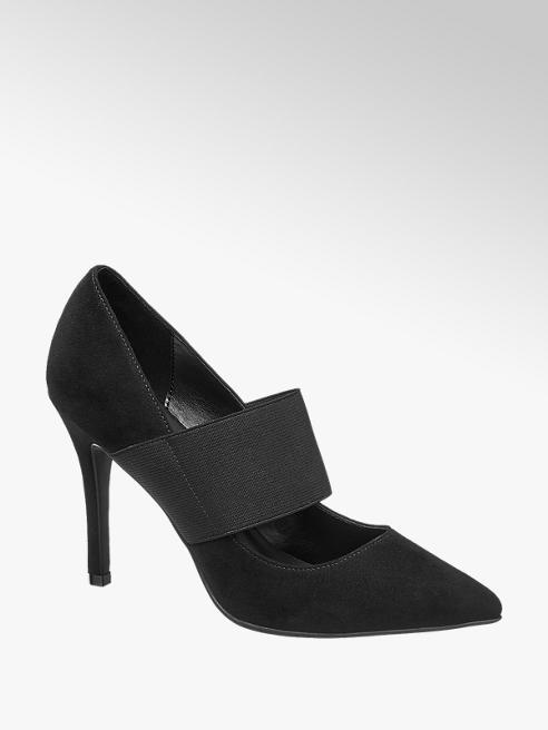Graceland Дамски обувки с ток и ластик