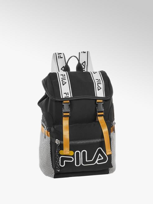 Fila Zwart-wit gele schoudertas