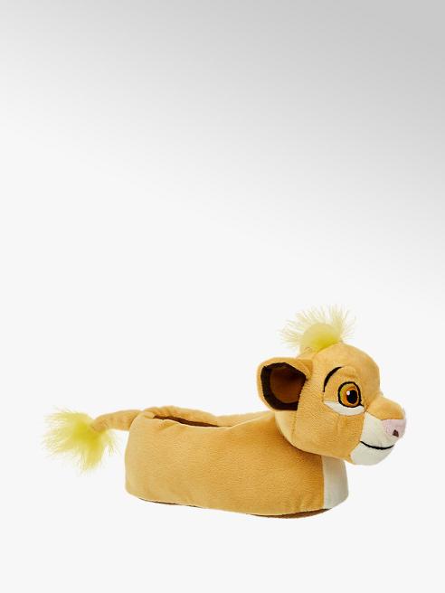 Casa mia Gele leeuwenkoning pantoffel