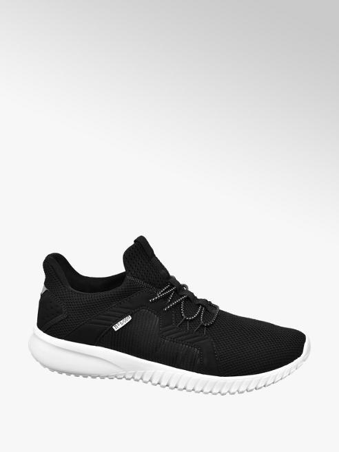 Venice Zwarte lightweight sneaker