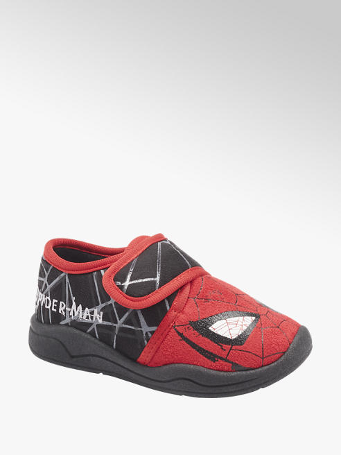 Spiderman Zwarte pantoffel Spiderman