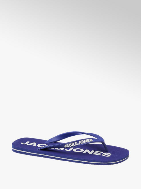 Jack & Jones Blauwe teenslipper