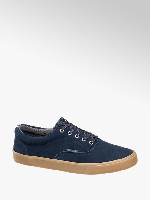 Jack & Jones Blauwe suède sneaker