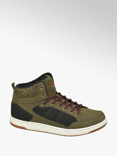 Memphis One Khaki halfhoge sneaker