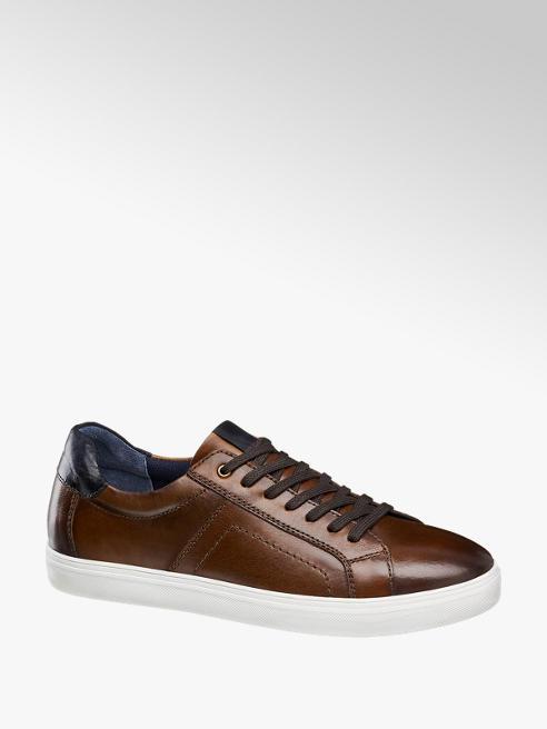 AM shoe Donkerbruine leren sneaker