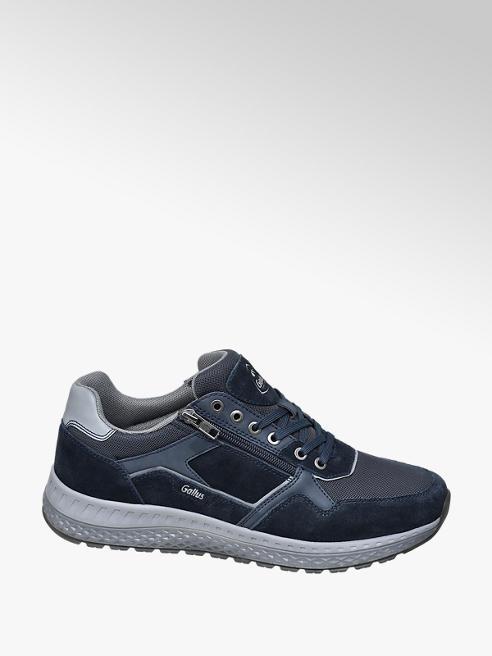 Gallus Blauwe suède sneaker