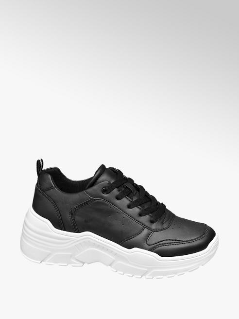 Star Collection Zwarte chunky sneaker