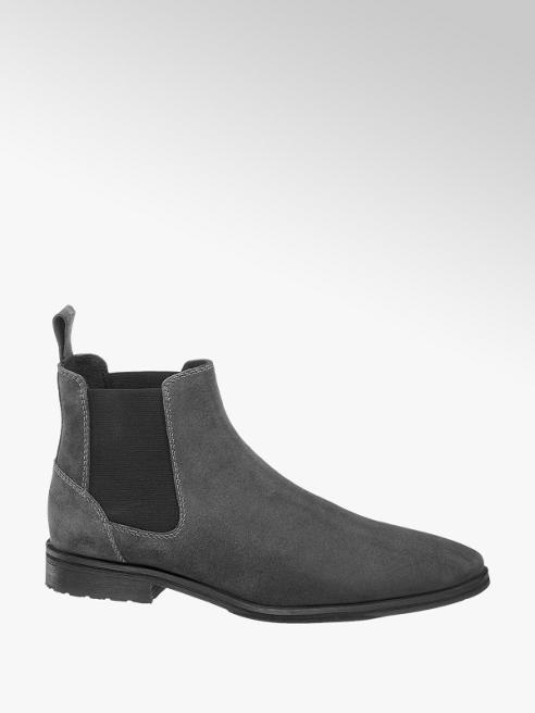 AM shoe Grijze suède chelsea boot