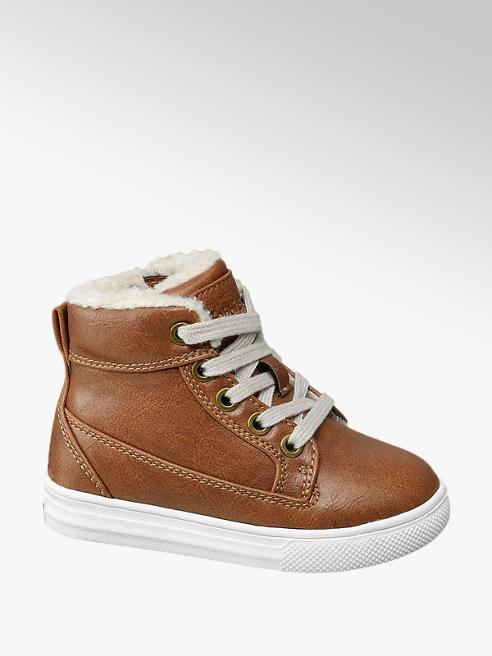 Bobbi-Shoes Sneaker alta marrone