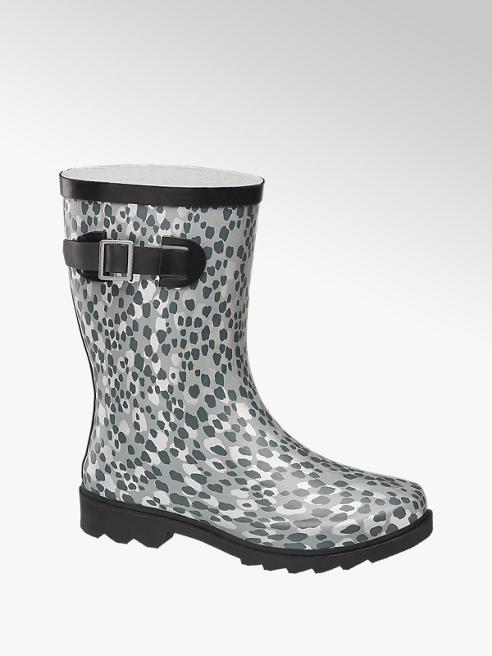 Cortina Grijze regenlaars panterprint