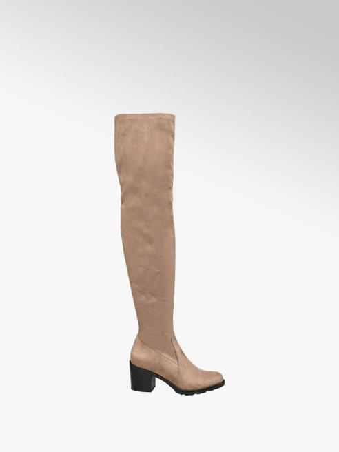 Graceland Damen Overknee Stiefel