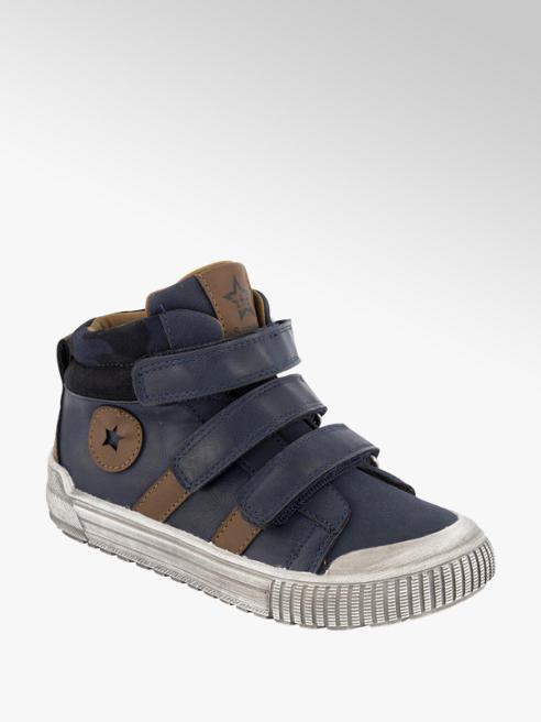 Donkerblauwe sneaker velcrosluiting