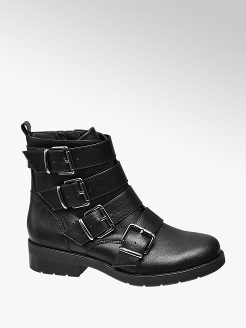 Graceland Black Ankle Boots