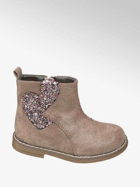 Cupcake Couture Bruine bootie glitter