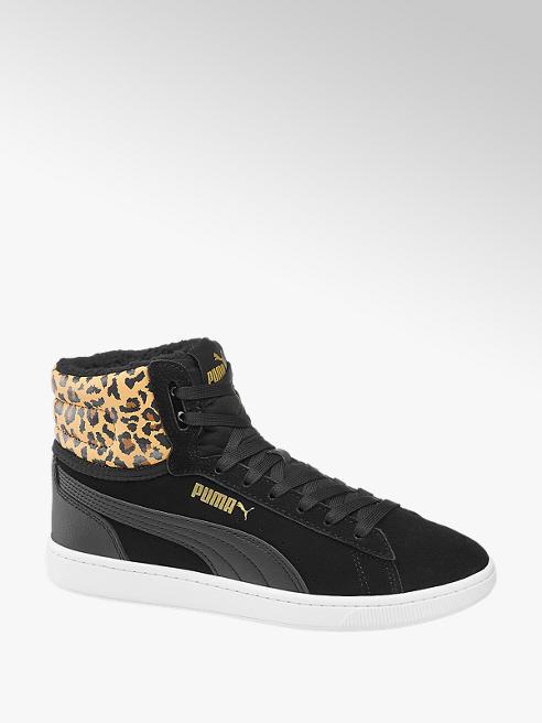 Puma Zwarte sneaker warmgevoerd