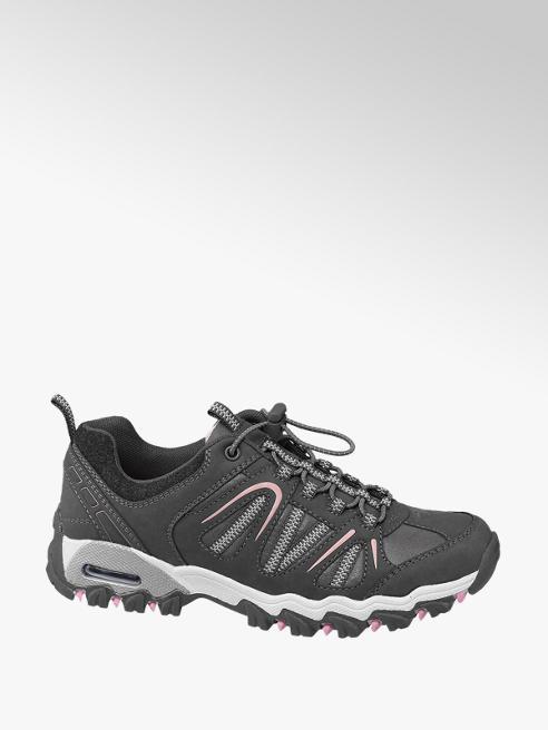 Landrover Donkergrijze wandelschoen elastiek