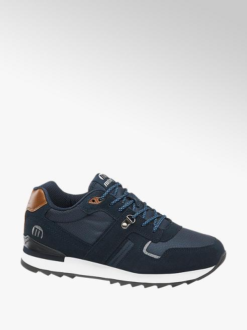 MTNG Blauwe suède sneaker