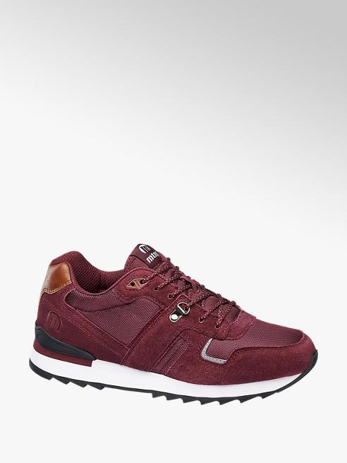 MTNG Bordeaux suède sneaker