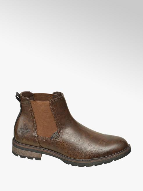 Venice Bruine chelsea boot