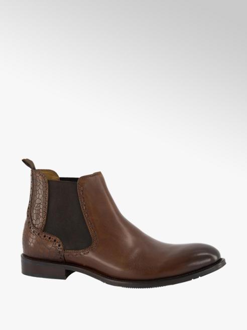 AM shoe Bruine leren chelsea boot