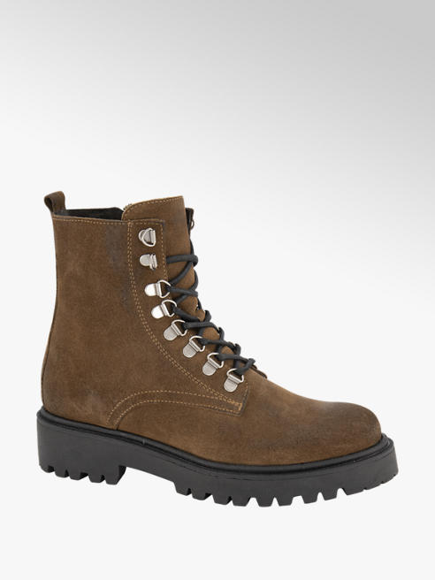 5th Avenue Bruine suède veterboot