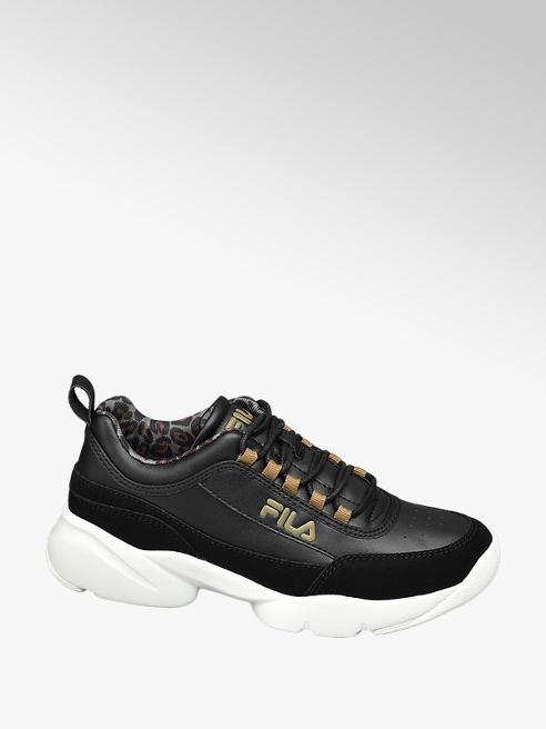 Fila Zwarte chunky sneaker lightweigt