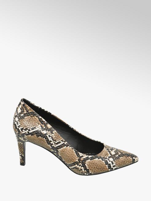 Graceland Pumps Reptil-Look