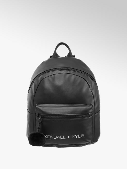 Kendall + Kylie Zwarte rugtas pompon