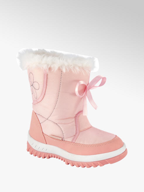 Cortina Roze snowboot strik