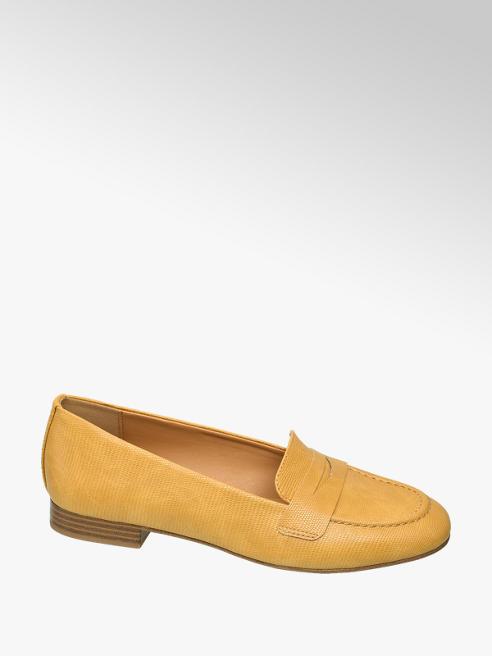 Graceland Oker gele loafer