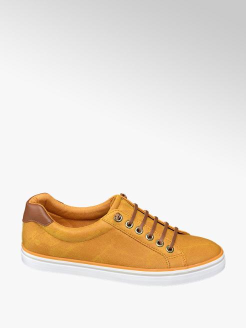 Vty Oker gele sneaker slip on