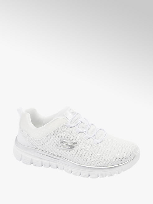 Skechers Witte sneaker memory foam