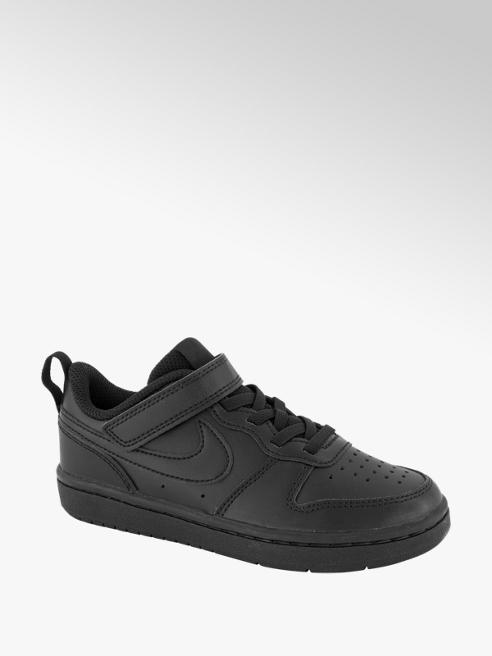 Nike Zwarte Court Borough Low 2