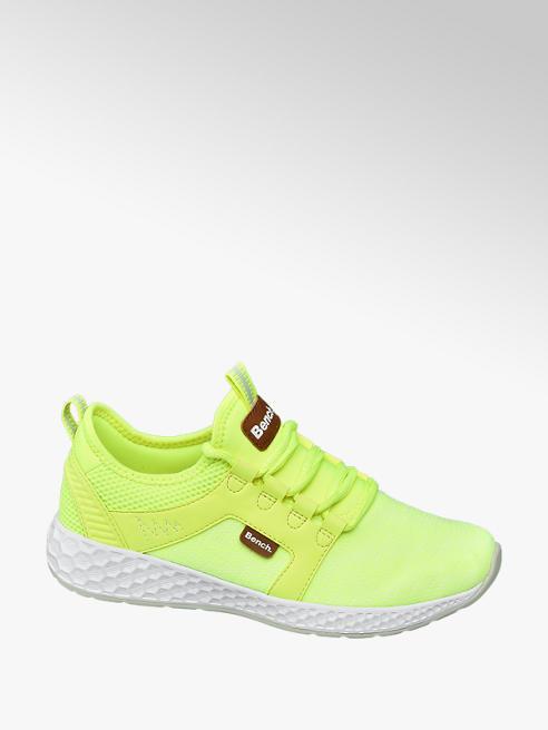 Bench Neon gele sneaker