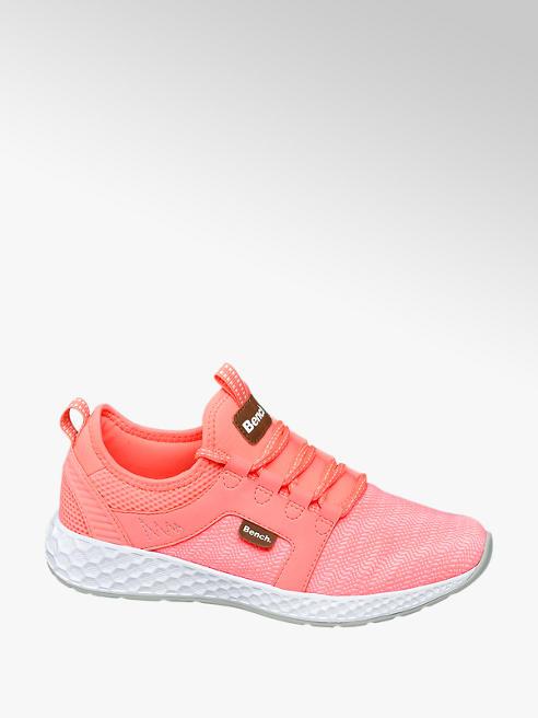 Bench Neon roze sneaker