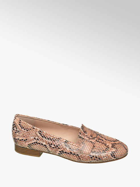 Graceland Loafer Reptil-Look
