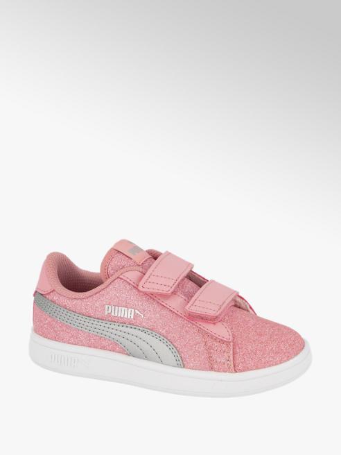 Puma Roze Smash V2 Glitz Glam klittenband