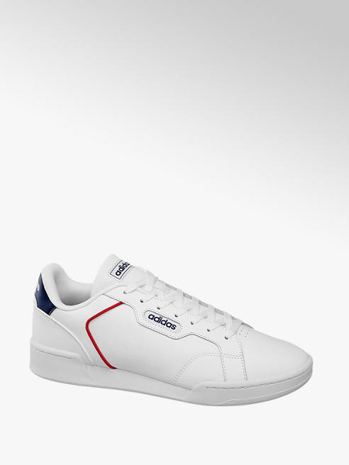 adidas Mens Adidas Roguera White Lace-up Trainers