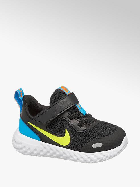 Nike Zwarte Revolution 5 klittenband