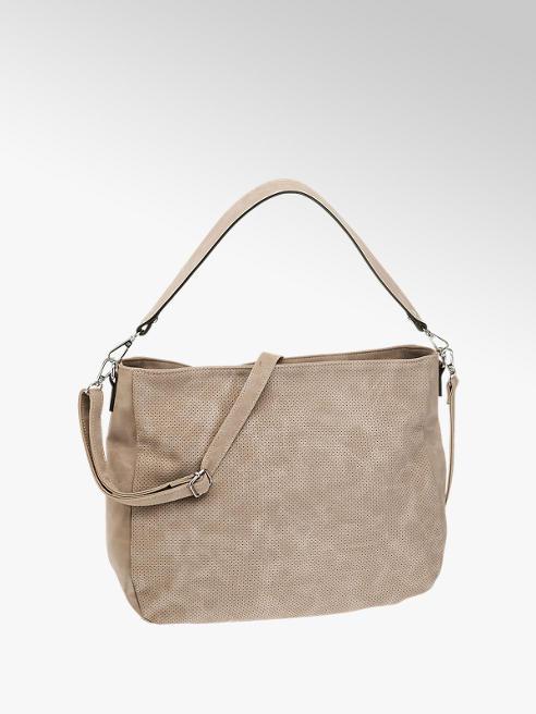 Graceland Beige Slouchy Shoulder Bag