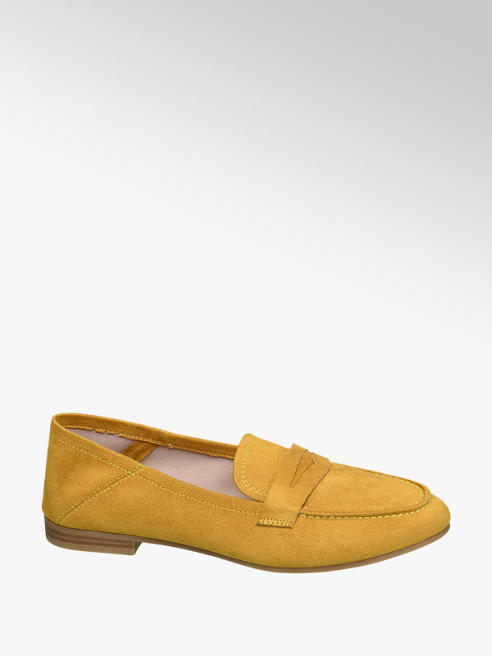 Graceland Oker gele loafer